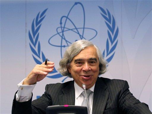 Energy Secretary Ernest Moniz.  (AP Photo/Ronald Zak)