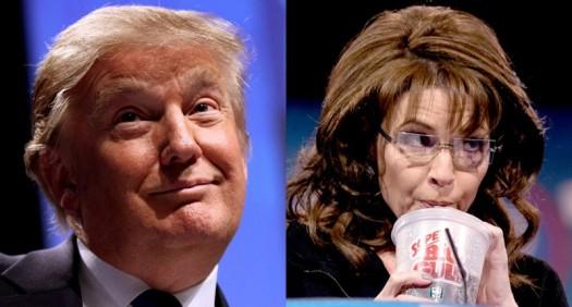 Donald Trump and Sarah Palins: Clowns of the latest political circus.