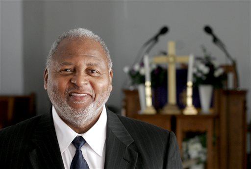 The Rev. William B. Schooler is pictured in January 2011 photo in Dayton, Ohio. Schooler, 70, was fatallly shot Sunday, Feb. 28, 2016, while in his office at St. Peter's Missionary Baptist Church in Dayton, Dayton police said. His brother, Daniel Gregory Schooler, 68, was arrested at the scene and taken to the Montgomery County jail. He faces a murder charge on Monday, said Sgt. Richard Blommel. ohdayap