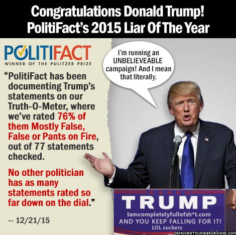 Trump's 'charitable' claims as phony as him   Capitol Hill ...