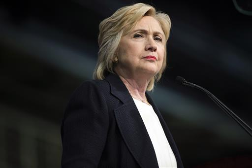 Democratic Presidential candidate Hillary Clinton. (AP Photo/Matt Rourke)