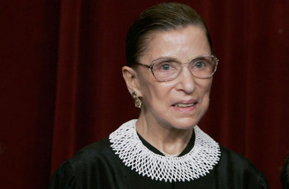 Supreme Court Justice Ruth Bader Ginsburg: Saying what needed to be said.