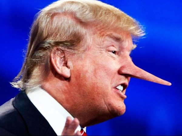 Another damn lie by Trump the liar   Capitol Hill Blue