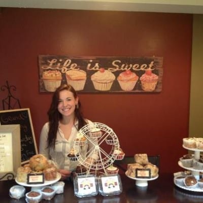 Purbaugh ready for gluten-free business (Image: Guilt Free Goodness)