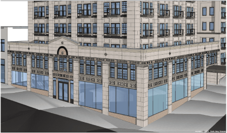 Meanwhile on E Pike, a leading Capitol Hill developer says his project will be a model for preservation (Image: Hunters Capital)