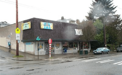 Not since... Old timers might remember Dick's Market -- a corner market past on 19th Ave E (Image: King County)