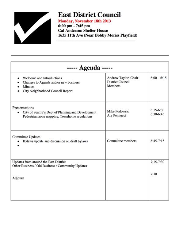 11-18-13 EDNC Agenda