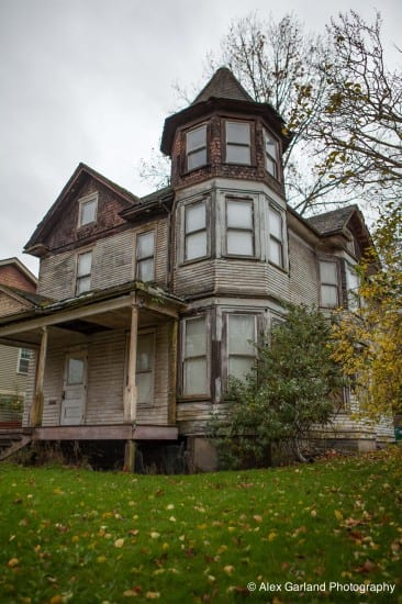 """A rowhouse development is next. """"No access to existing residence, it is DANGEROUS!"""" the real estate listing for the old, amazing, and too-far-gone to save house at 339 16th Ave E read (Image: CHS)"""