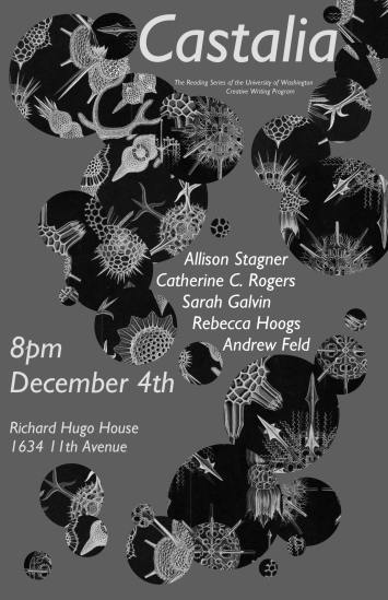 December Castalia Reading Series @ Richard Hugo House