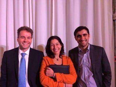 Candidates Scott Forbes, Cristina Gonzalez and Wilkinshaw, left to, um, less left :) (Image: 43rd District Democrats)