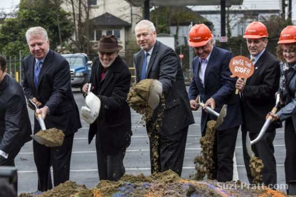 McGinn won't be mayor to cut the ribbon when 12th Ave Arts opens in 2014 (Images: CHS)