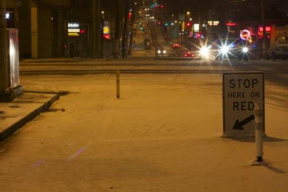 Though they haven't plowed the Broadway Bikeway!