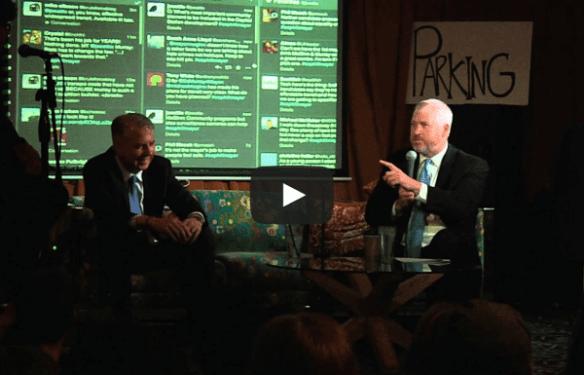 McGinn debated Murray at a Capitol Hill forum in 2013 (Image: CHS)