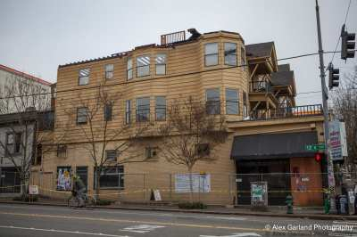 After being rejected as a landmark years ago, this old building at 12th and Pike is also coming down