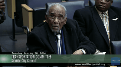 Rev. McKinney attended Tuesday's committee meeting