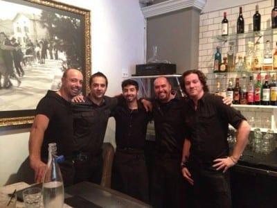 The Panevino crew, summer of 2013 (Image: Panevino)