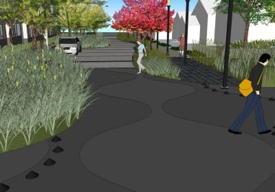 A conceptual image of 12th Avenue Square Park presented in 2011 (Image: Seattle Parks and Recreation)