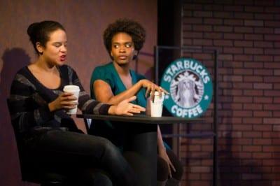 Marquicia Domingue, left, and Kia Pierce (Image: Shane Regan)