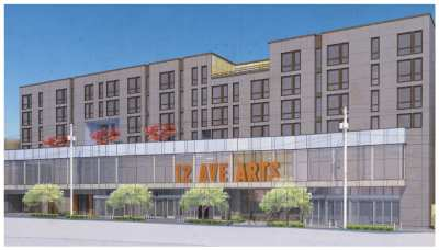 12th Avenue Arts, which recently broke ground, will have 80+ units of affordable housing