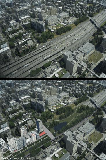 "The Northwest Urbanist says ""Let's bury I-5"""