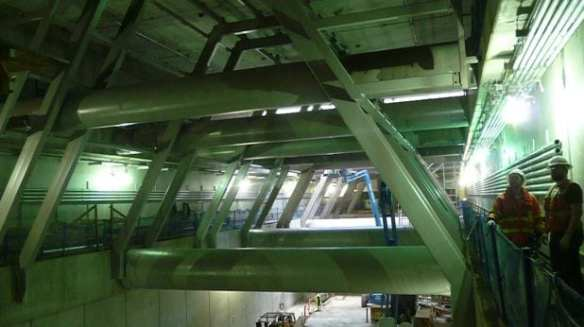 Inside Capitol Hill Station (Image: Hewitt Seattle)
