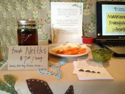 Fresh nettles! (Image: The Herbalist)