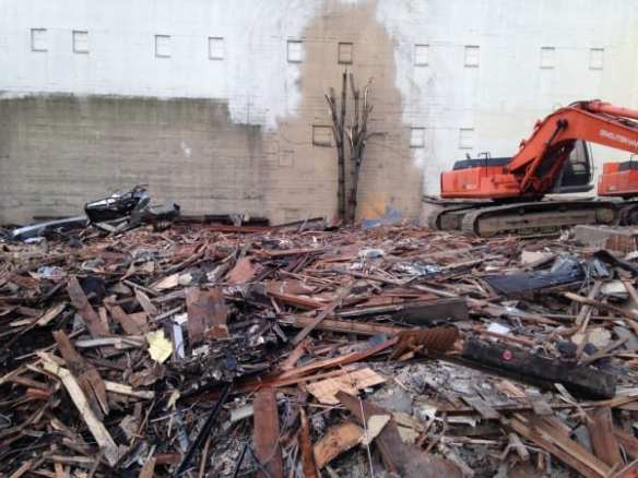 Demolition at 12th and Pike (Image: CHS)