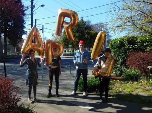 The APRIL crew (Image: APRIL Festival)