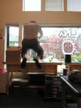2014.04.08 Barefoot Ted McDonald bounding - JO
