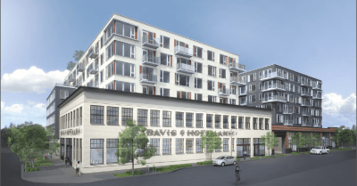 Alliance's 250-unit preservation and development project across the street