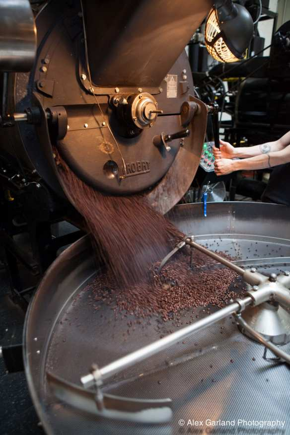 With growing demand for its beans, Vita's new roaster boosted production by 33% in 2010 (Images: CHS)