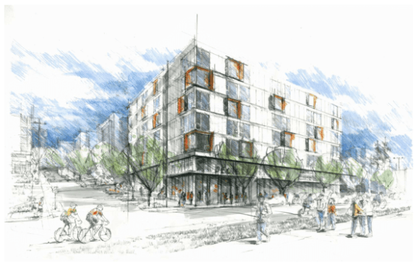 The Decibel is part of a trio of affordable apartments planned along 12th Ave south of Capitol Hill