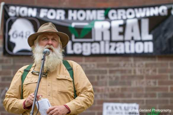 """Small farmers are a vast and diverse group.  Patients have to be growers and farmers.  It's a symbiotic relationship and a healing lifestyle,""  Farmer Tom said Saturday."