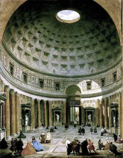 Pantheon-panini small