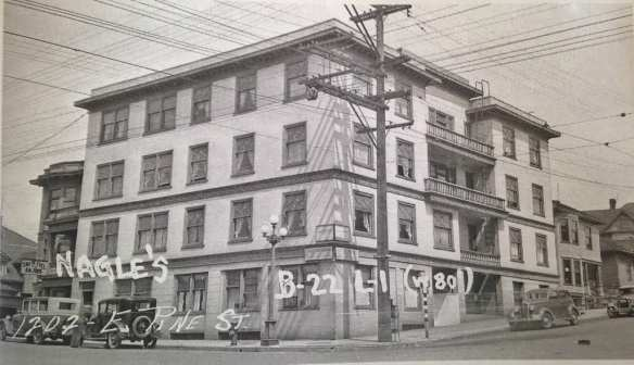The Gordon at 12th and Pine, developed by Jane Brydsen (Image: Washington State Archives)