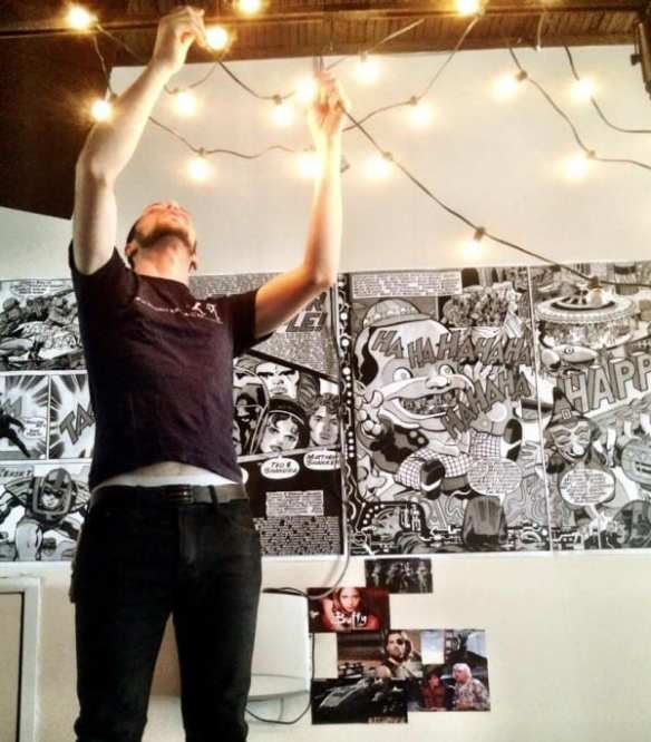 The lights go up in the new Raygun Lounge space (Image: Raygun/Gamma Ray)