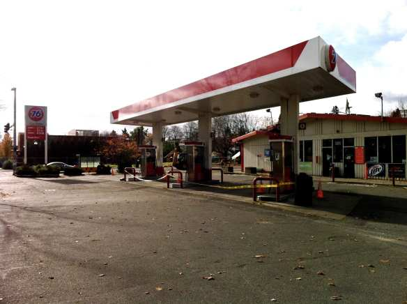 In 2010, things seemed bleak at 23rd and Union as even the gas station temporarily shuttered (Image: CHS)