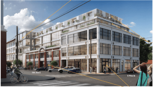 'Visionary' 11th/Pine office and preservation project ready to move forward