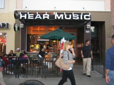 Santa Monica's Hear Music (Image: blocksnap.com)