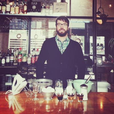Nogmeister Chapman in simpler times... 2013 (Image: Sun Liquor)