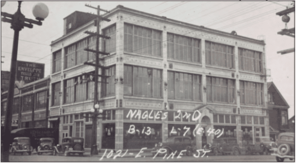The building in 1937 (Image: Puget Sound Regional Archives)