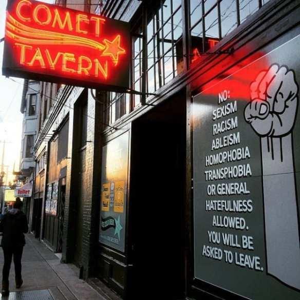 (Image: Comet Tavern)