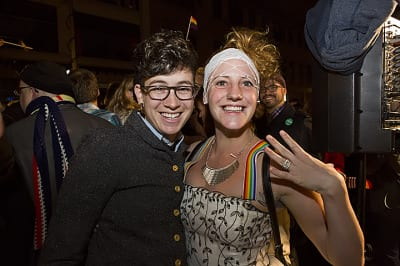 Election night 2012 revelers will soon have an opportunity to vote for one of the people who helped boost the R-74 campaign to victory (Image: CHS)