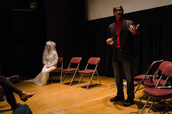 The Harvard Exit ghost of cinema past was on hand Sunday night (Image: Josh Kelety for CHS)
