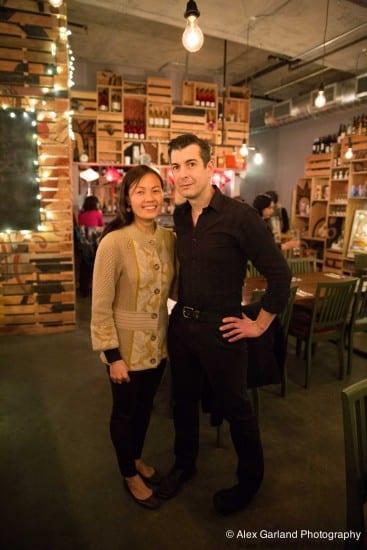 Happy Nue restaurant owners Uyen Nguyen and Chris Cvetkovich