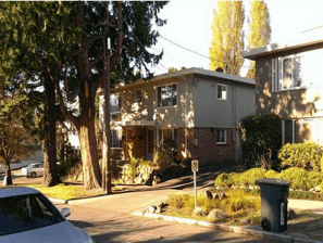 This fourplex is about to get optimized (Image: King County)