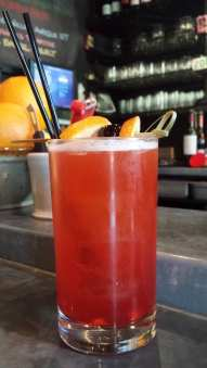 The Sell Out at the Bitterroot in Ballard features The Shrubbery's cranberry spice shrub (Image: The Shrubbery)