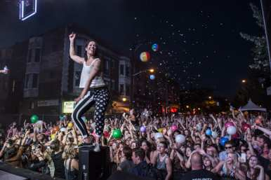 Matt and Kim in 2014 (Image: CHBP with permission to CHS)