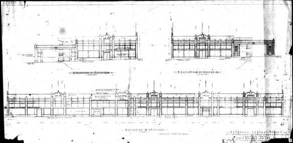 Broadway Market Plans 1927
