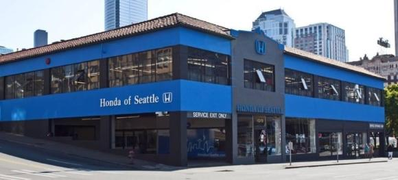 Honda Of Seattle >> A Parking Plan To Keep Old Honda Dealership Active Until Convention